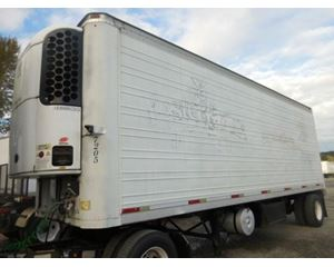 Trailmobile ROLL DOOR REEFER- 2009 TK UNIT- ELECTRIC STAND BY UNIT Refrigerated Trailer