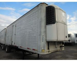Trailmobile ROLL DOOR REEFER- 2009 TK UNIT- ELECTRIC STANDBY UNIT Refrigerated Trailer