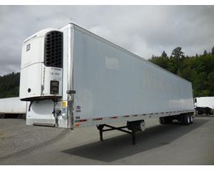 UTILITY 3000R- Swing Door Flat Floor High Cube Air Ride Reefer- No Unit Refrigerated Trailer