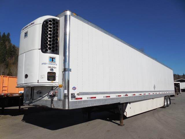 2012 UTILITY 3000R SWING DOOR AIR RIDE REEFER WITH THERMO KING Refrigerated  Trailer