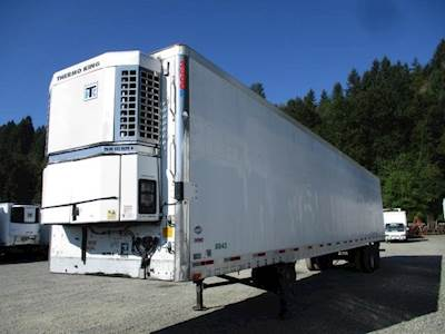 2003 UTILITY 3000R SWING DOOR AIR RIDE REEFER WITH TK UNIT Refrigerated Trailer