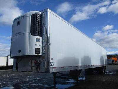 """2010 UTILITY 53' 102"""" AIR RIDE ROLL DOOR REEFER WITH TK UNIT Reefer Trailer"""