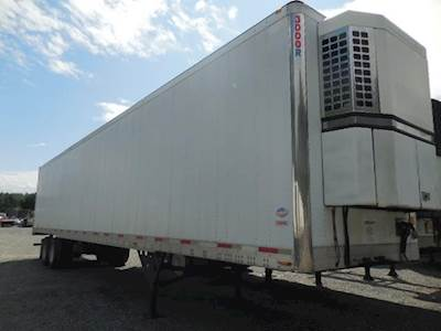 2005 UTILITY AIR RIDE SWING DOOR REEFER WITH TK REEFER UNITS Refrigerated Trailer