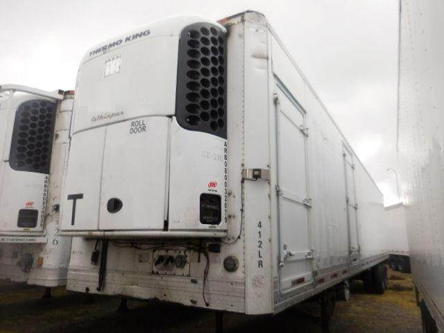 1996 UTILITY ROLL DOOR REEFER WITH SIDE DOORS WITH TK ELECTRIC ...