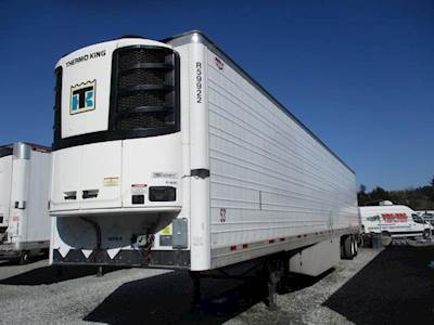 2018 Wabash 53 ft Reefer Trailer - Sliding Axle, Swing Door, Thermo King