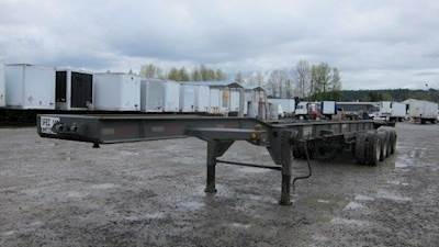 2000 Trailmobile 4 AXLE SUPER CHASSIS Chassis