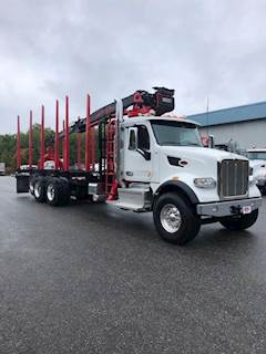 Peterbilt Logging Trucks For Sale | MyLittleSalesman com