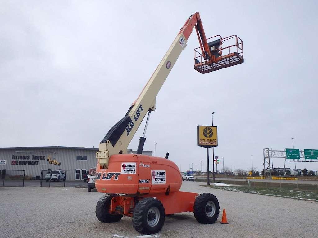 Jlg Boom Lift : Jlg sj boom lift for sale hours morris