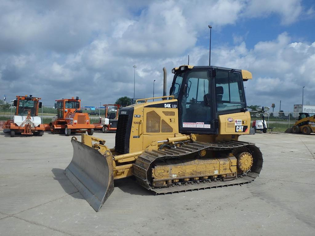 2011 Caterpillar D4k Lgp Crawler Dozer For Sale 2079 Hours