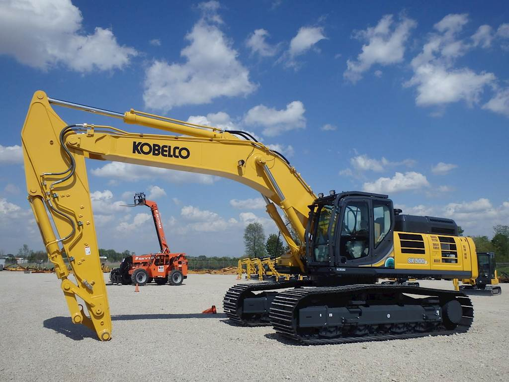 2018 Kobelco SK500 LC-10 Excavator For Sale, 4 Hours | Morris, IL