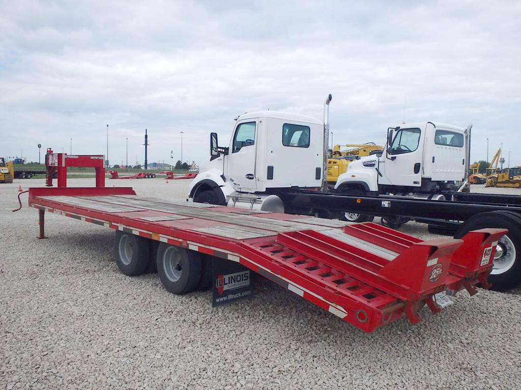 Flat Deck Trailer >> 2017 Interstate G20dt Gooseneck Flat Deck Trailer 20k Capacity 24 Top Deck Beavertail Ramps For Sale Morris Il I1221 Mylittlesalesman Com