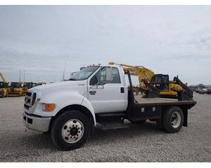 Ford F-650 Flatbed Truck