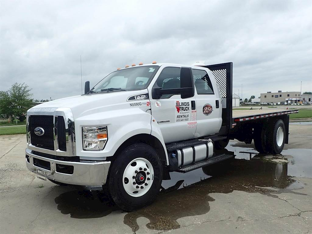 2018 Ford F-750 Flatbed Truck For Sale, 426 Miles | Morris ...