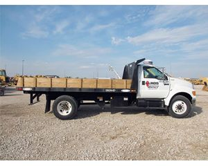 Ford F-750 Flatbed Truck