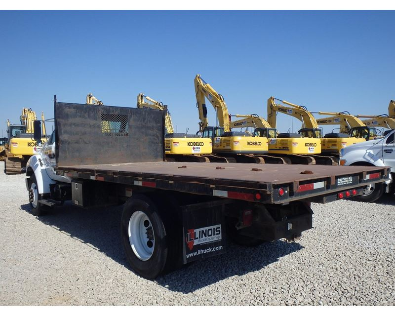 2006 ford f 750 heavy duty dump truck for sale morris il. Black Bedroom Furniture Sets. Home Design Ideas