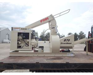 FINN B70T Hydro Seeder / Straw Blower