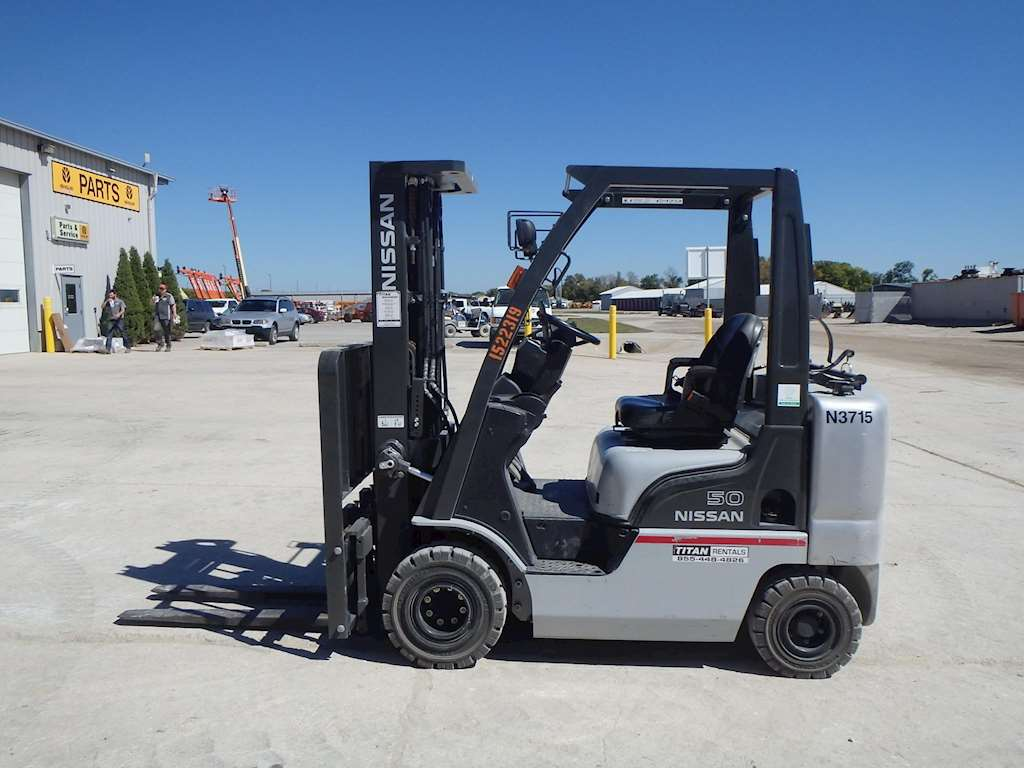 2013 Nissan 50 Mast Forklift For Sale 715 Hours Morris