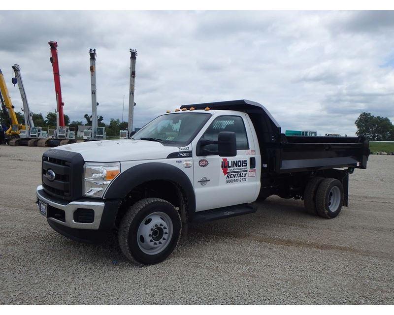 Medium duty ford dump trucks for sale for D arcy motors morris il