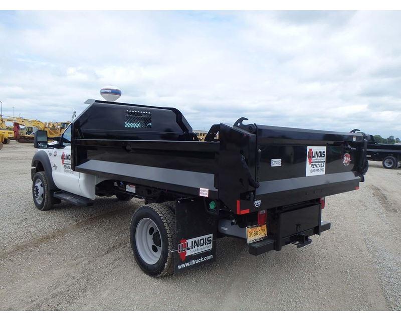 2015 ford f 450 medium duty dump truck for sale morris il. Black Bedroom Furniture Sets. Home Design Ideas