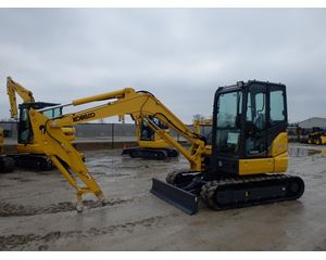 Kobelco 55SRX Mini Excavator