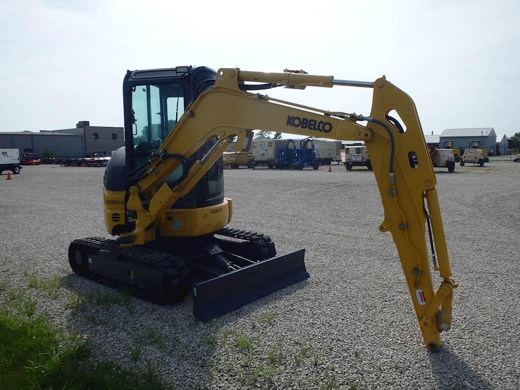 2019 Kobelco SK35SR-6E Mini Excavator For Sale, 4 Hours