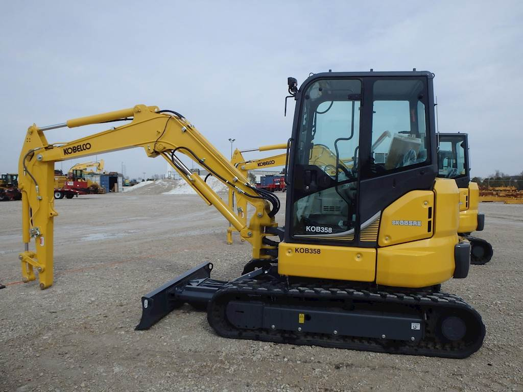 2018 kobelco sk55srx 6e mini excavator for sale morris il rh mylittlesalesman com Kobelco Replacement Parts Kobelco Replacement Parts