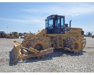 Caterpillar 815F Padfoot Compactor