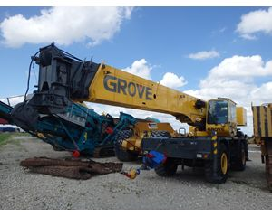 Grove RT540E Rough Terrain Cranes