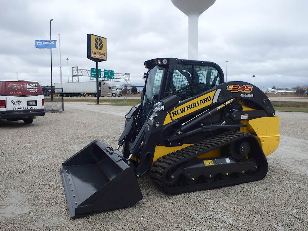 2019 New Holland C245 Skid Steer For Sale, 4 Hours | Morris