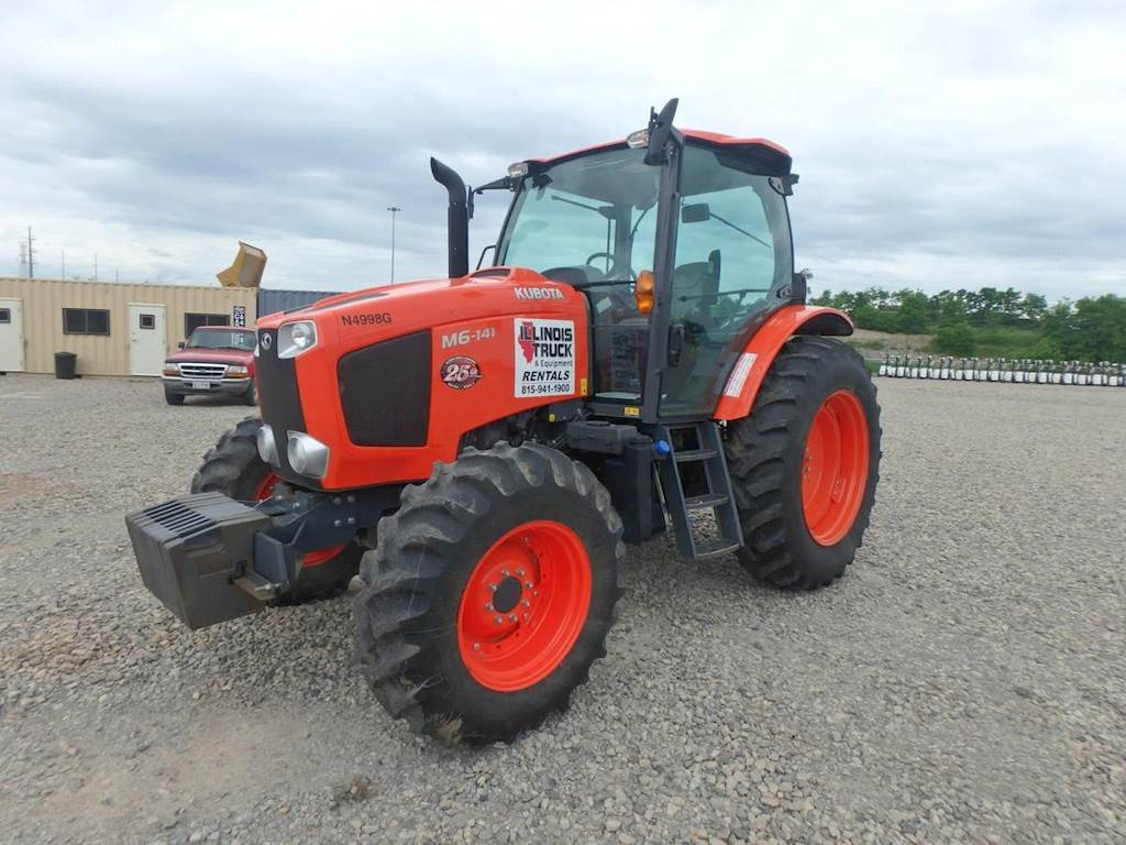 2017 Kubota M6-141 Tractor For Sale, 591 Hours | Morris, IL