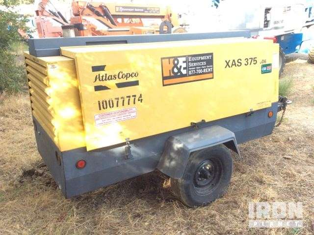 Air Compressors Atlas Copco XAS375T3 375 CFM 9628374 atlas copco xas 96 wiring diagram wiring diagrams atlas copco xas 96 wiring diagram at mifinder.co