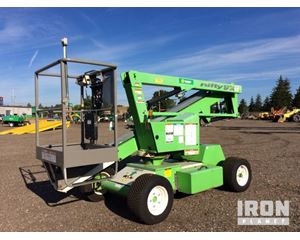 (unverified) Nifty-Lift SP34 2WD Diesel Articulating Boom Lift