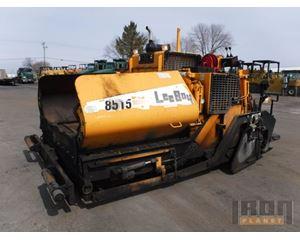 Lee Boy L8515T Asphalt Paver