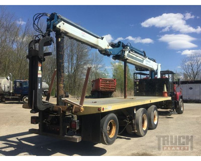Articulating Boom Truck : Gormagh articulating boom on mack dm s t a truck for