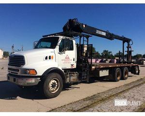 Hiab 235K Articulating Boom on  Sterling LT9500 Tri/Axle Truck