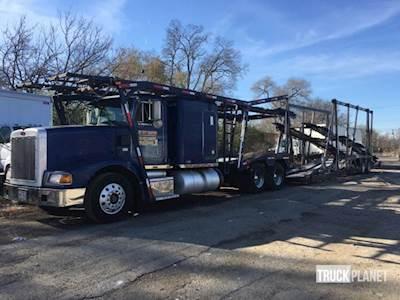 Peterbilt Car Carrier Trucks For Sale