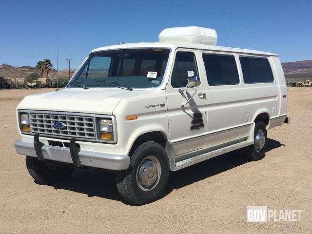 1988 ford econoline 350 cargo van for sale ridgecrest ca 9030342. Black Bedroom Furniture Sets. Home Design Ideas