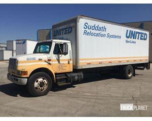 International 4700 Cargo Truck