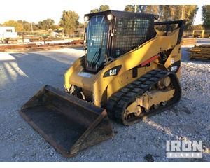 Cat 259B3 Compact Track Loader