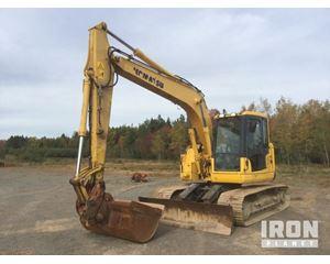 Komatsu PC138USLC-8 Track Excavator