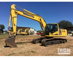 Komatsu PC210LC-10 Track Excavator