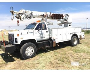 Texoma TX345 Digger Derrick on  GMC Topkick C7H042 S/A Truck