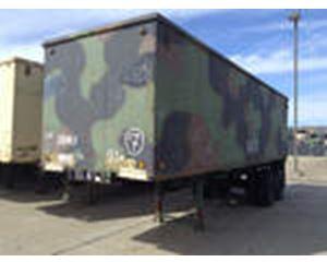 US ARMY Tank Automotive Command M128A1C Van Trailer