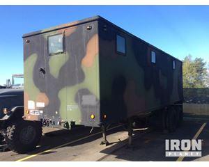 US ARMY Tank Automotive Command M129A3 Van Trailer