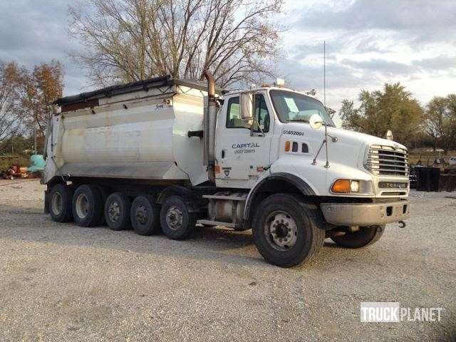 Six Axle Truck : Sterling lt axle dump truck for sale