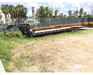 Down to Earth DTE824GN7B T/A Equipment Trailer