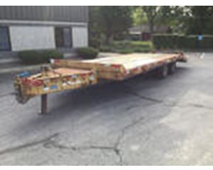 Eager Beaver 20HALX T/A Equipment Trailer