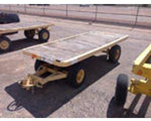 Platform Warehouse Cart Trailer