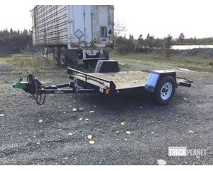 (unverified) S5FT S/A Tilt Deck Equipment Trailer