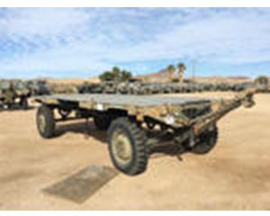 Naval Air Systems Command A/M32K-4A Air Launched Weapon Rough Terrain Trailer